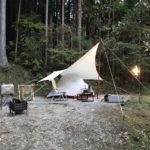雰囲気バツグンの林間サイト!洞川キャンプ場