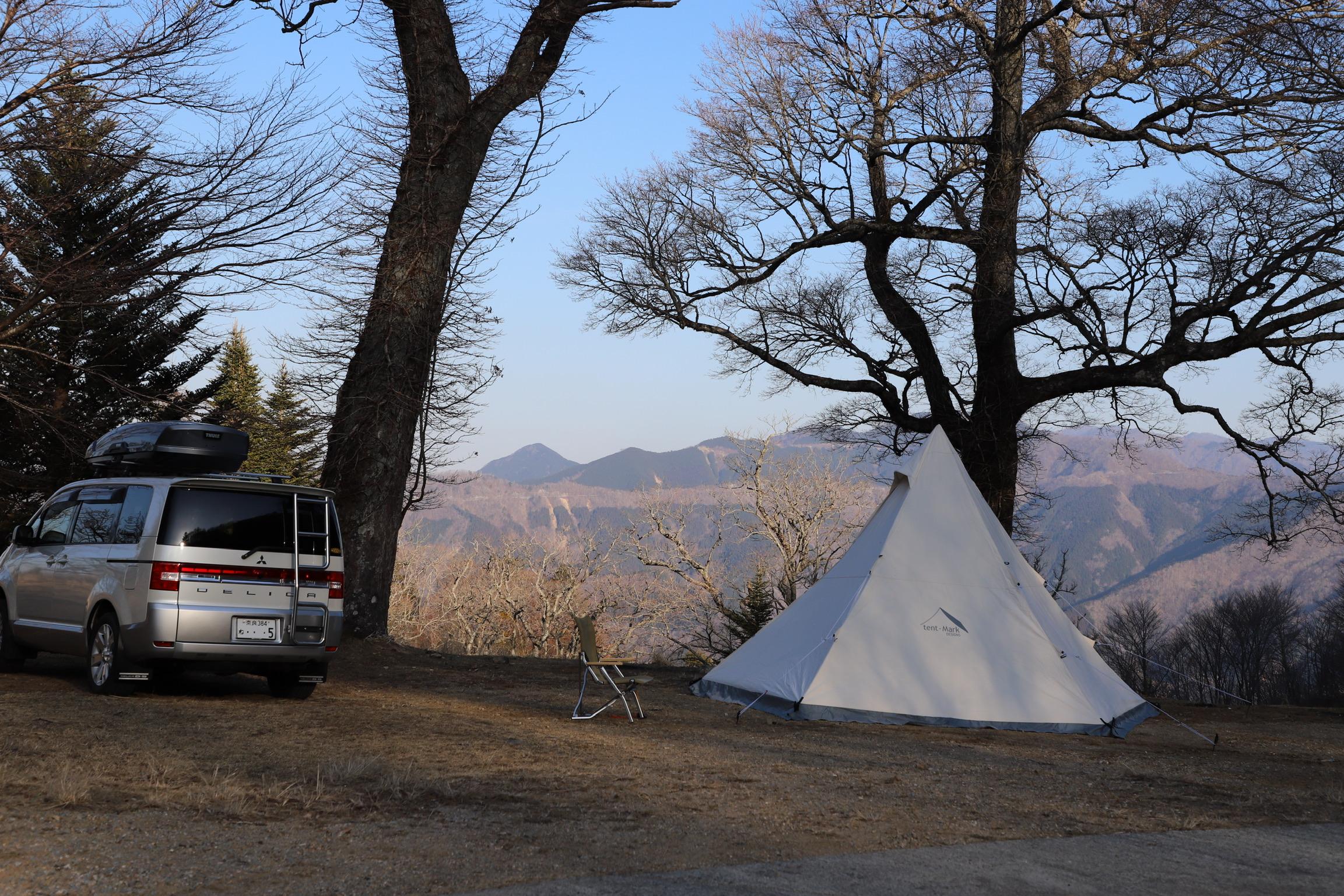 見晴らしが最高!和佐又山キャンプ場