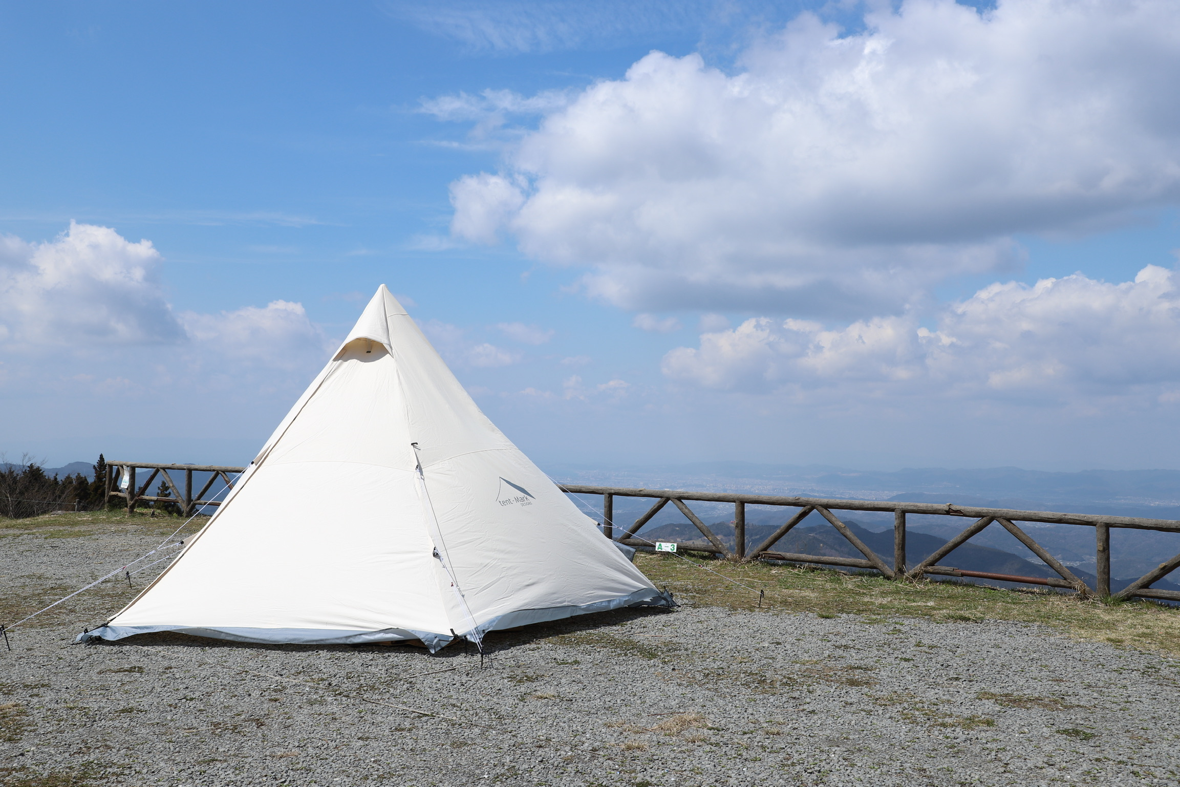 高原からの眺めは絶景!生石高原キャンプ場