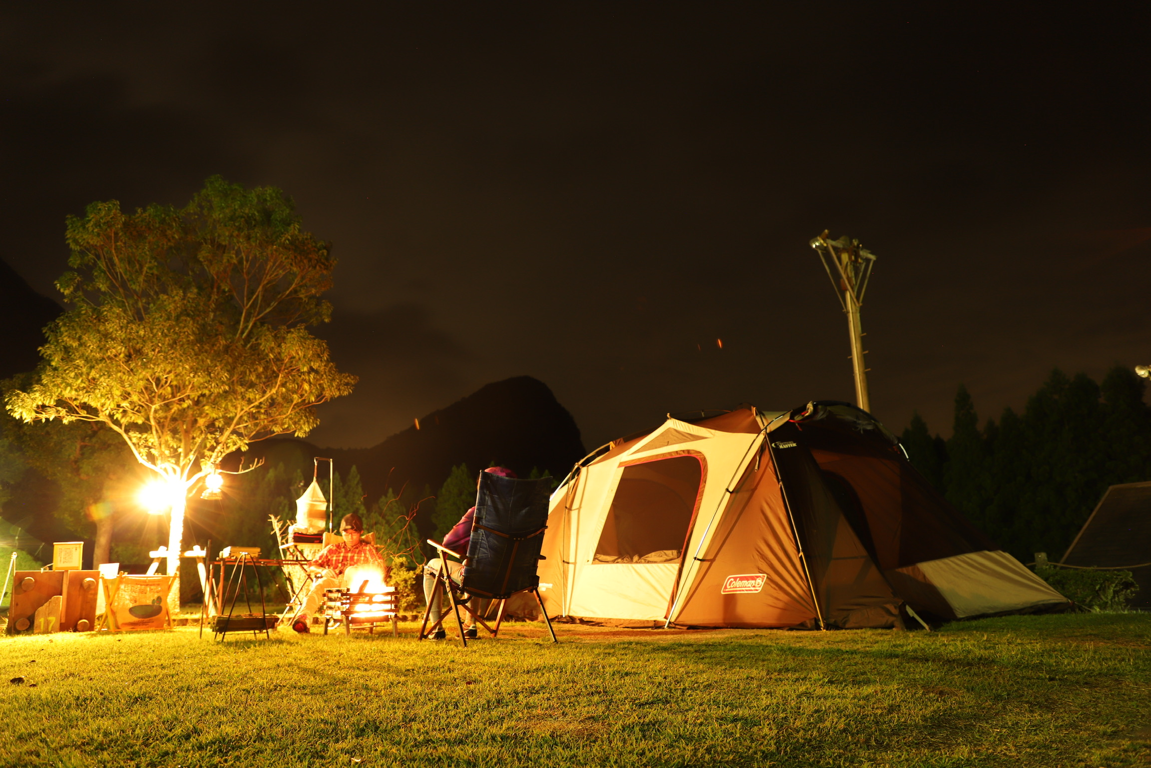 設備充実で安心キャンプ♪ サン・ビレッジ曽爾