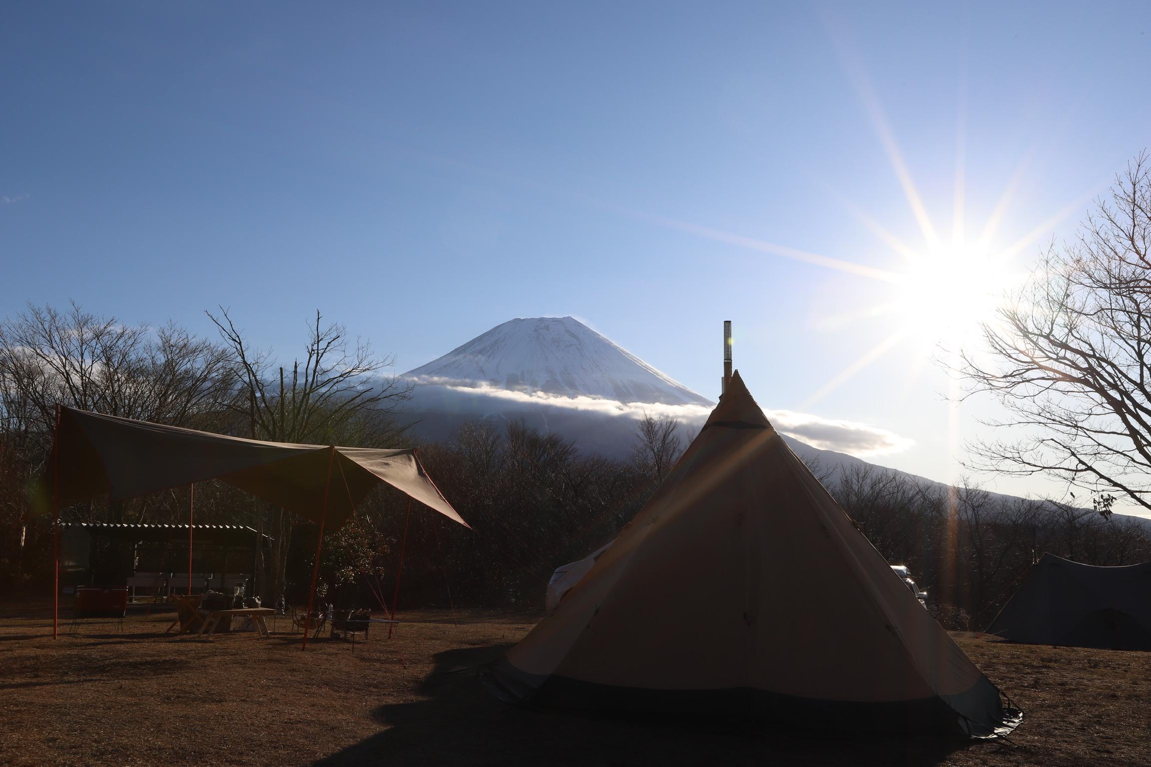 富士山を望む高原サイト!朝霧ジャンボリーオートキャンプ場