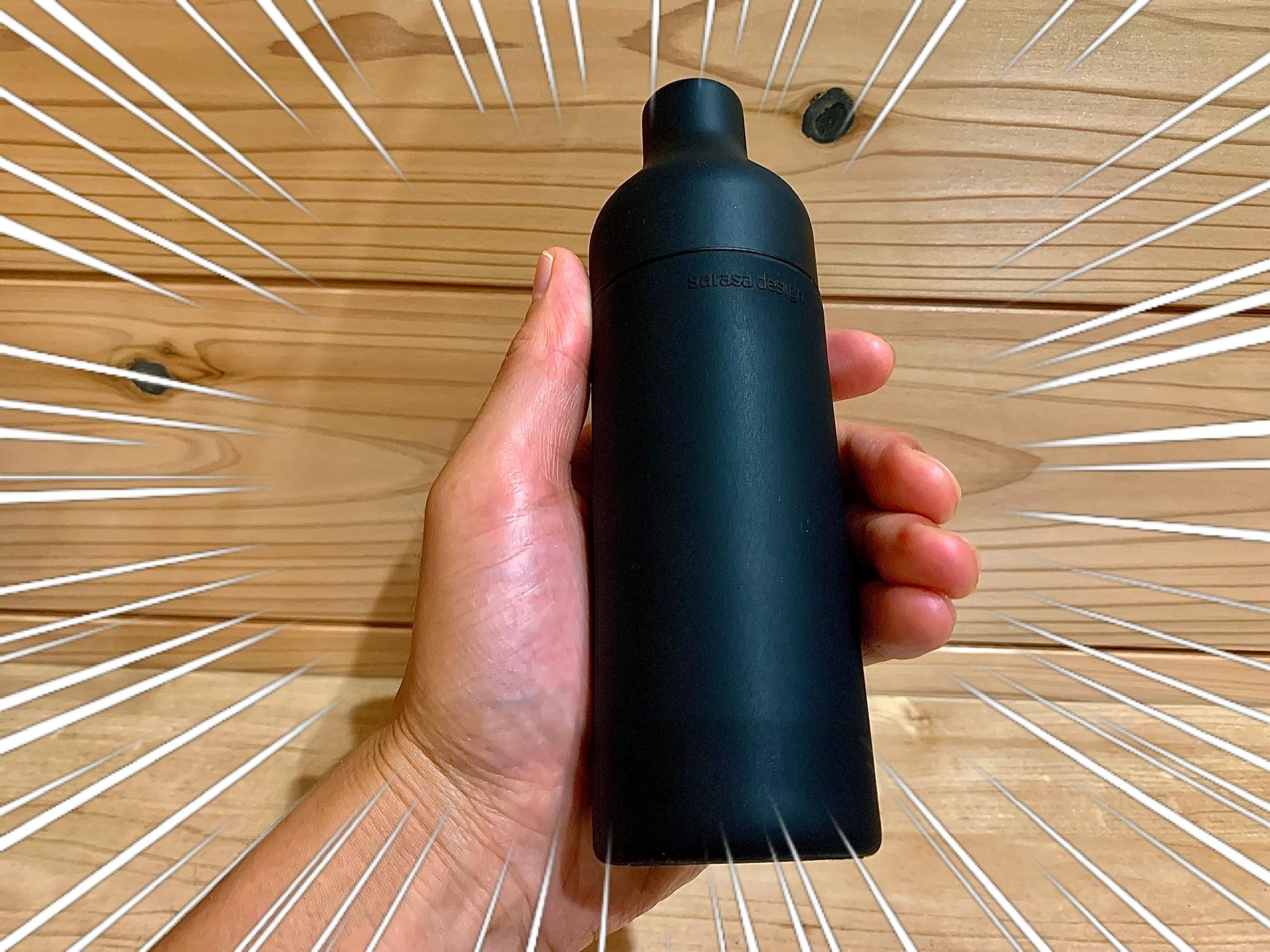 洗剤入れを「サラサデザイン」のボトルに変えたらオシャレ度がぐ〜んとUPした!